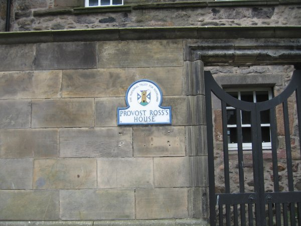PROVOST ROSS'S HOUSE