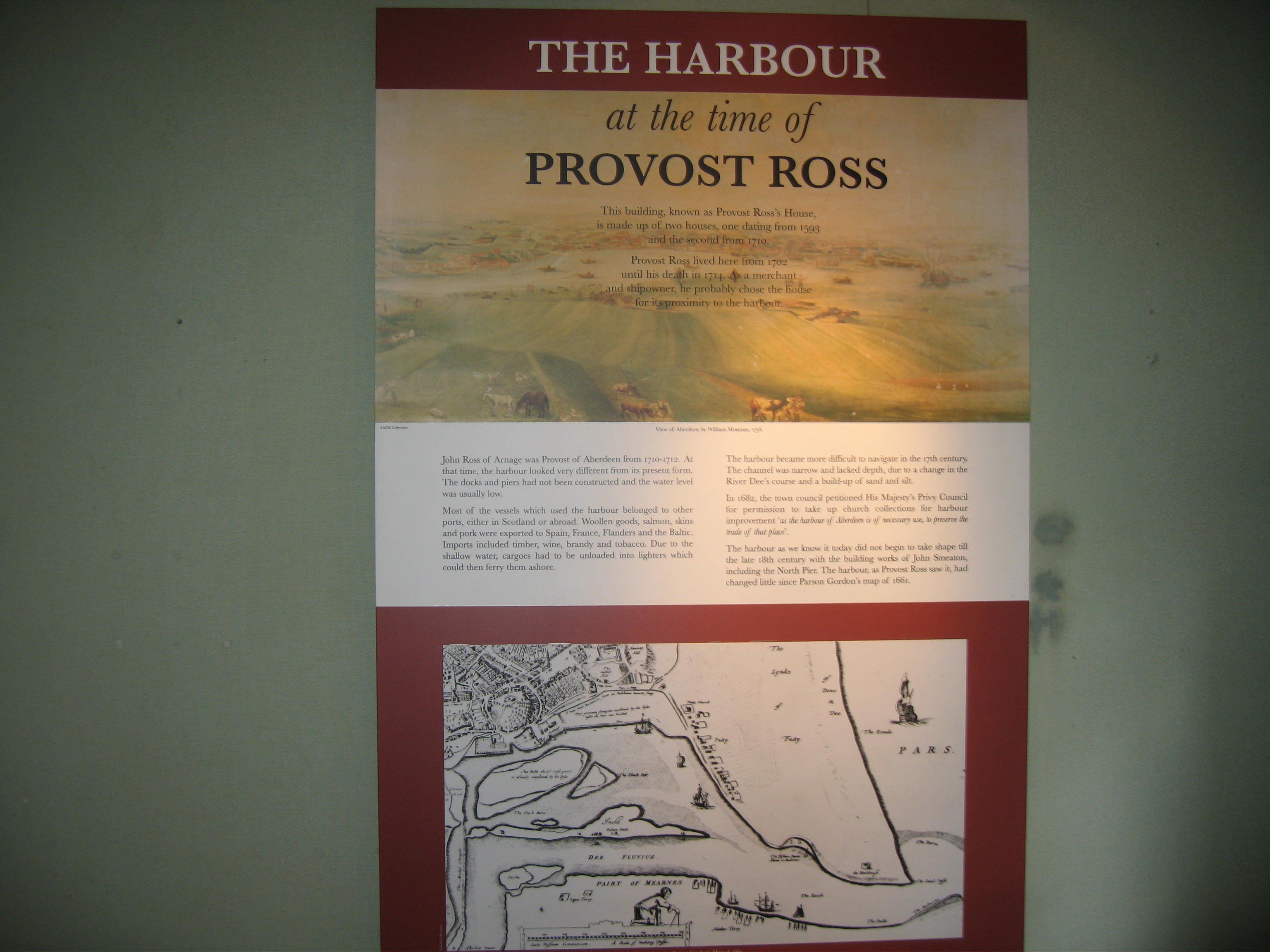 HARBOUR AT TIME OF ROSS