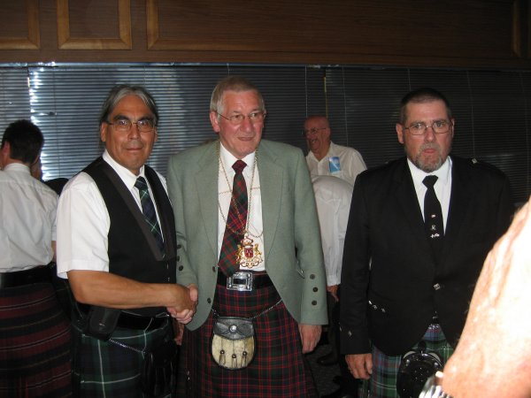 LORD PROVOST PETER JAMES STEPHEN & JOE WHITE
