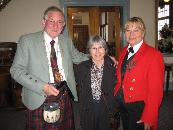 PAT WITH LORD PROVOST & SECRETARY