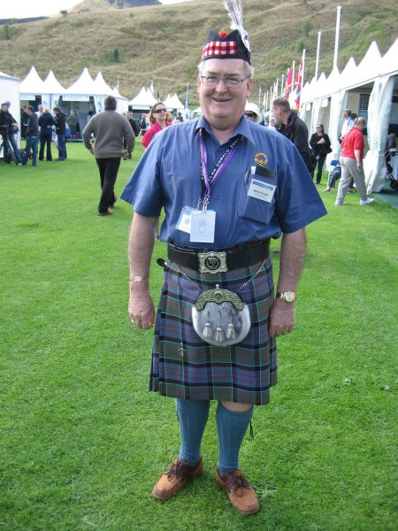 HAROLD M McISAAC - High Commissioner of Clan Donald of New Zealand