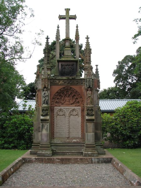 MONUMENT TO 4TH EARL & WIFE