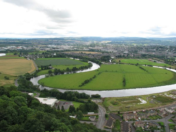 MEANDERING RIVER FORTH