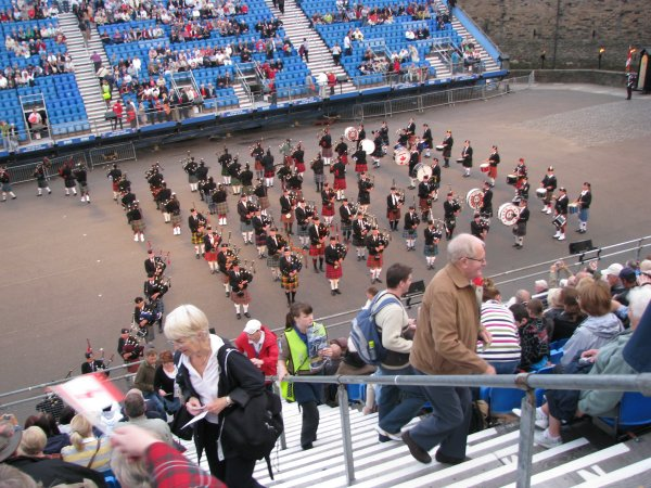 NEW FORMATION PRACTISED AT PITLOCHRY