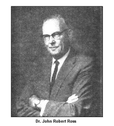 DR. JOHN ROBERT ROSS